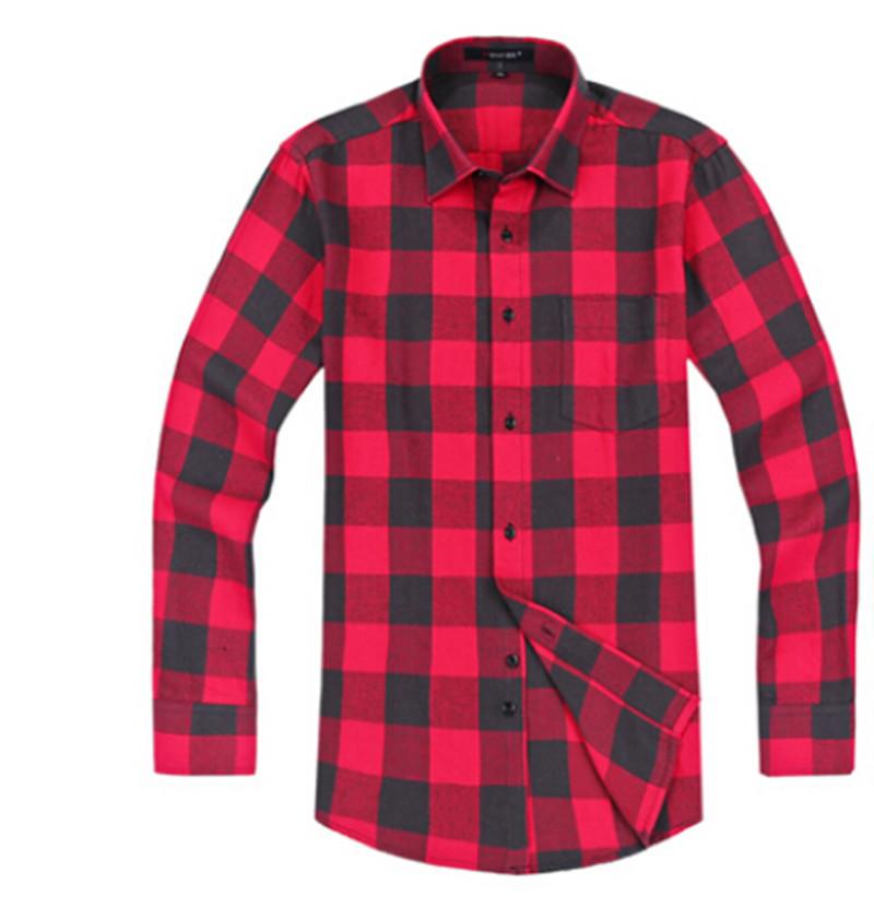 b88df4cbc8 Get Quotations · VFan Flannel Men Plaid Shirts 2015 New Autumn Luxury Slim  Long Sleeve Brand Formal Business Fashion