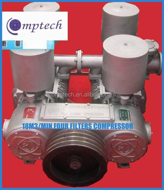 10m3/min Stationary Air Compressor Bulk Cement Trailer Compressor Cement Tanker Compressor