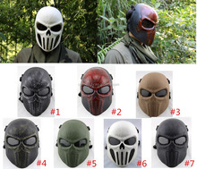 Paintball Airsoft Wire Mesh Spine Tingler Punisher Full Face Mask