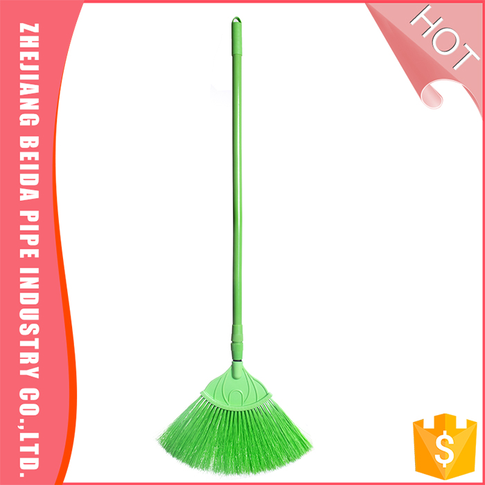 Telescopic Broom Using For Cleaning Ceiling Spider Web