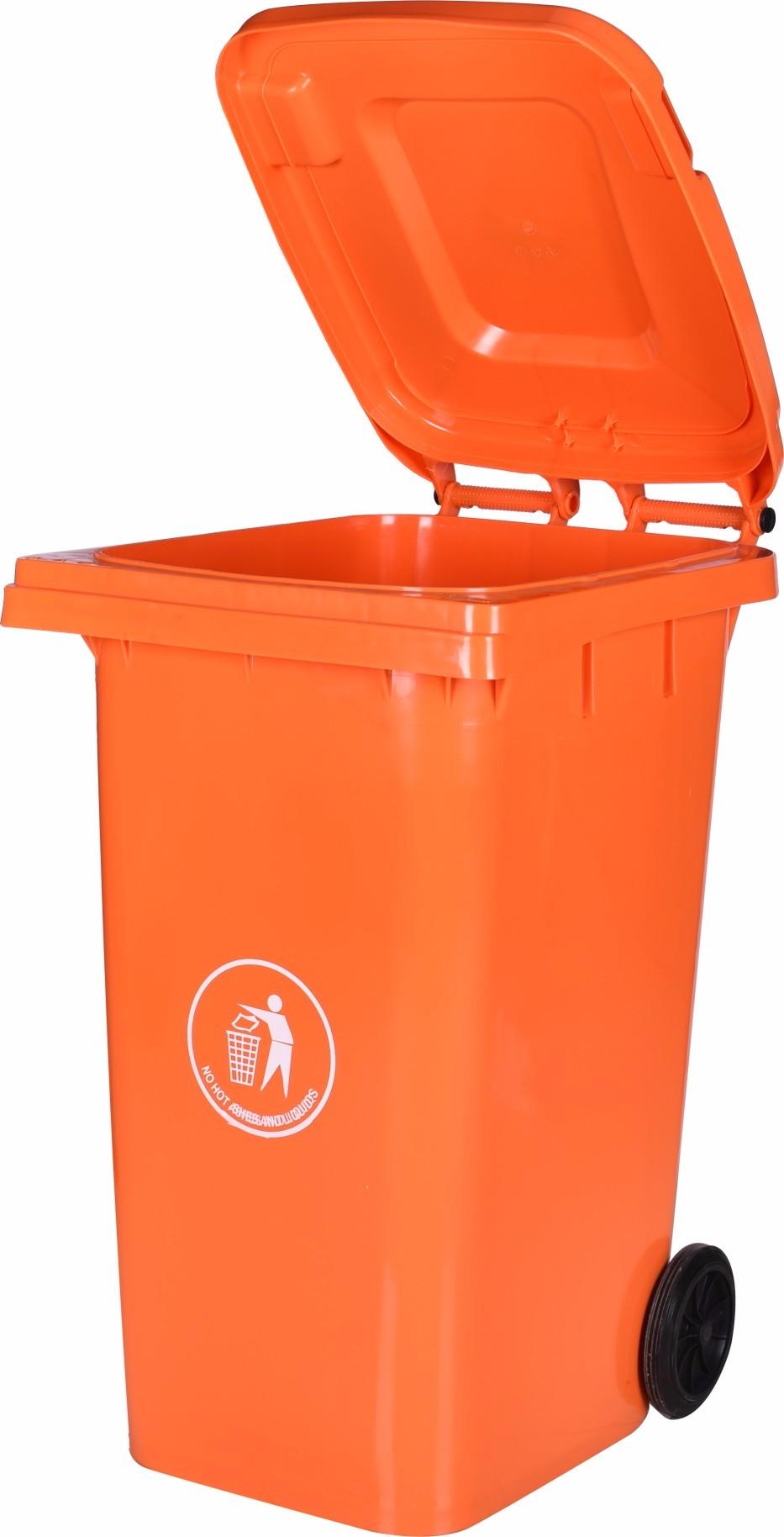 Light 240l Storage Bins Plastic Color Codes For Waste Bins