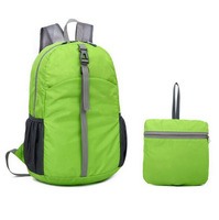Ultra-Light Nylon OEM Children Pocket Folding Bicycle Backpack Bag