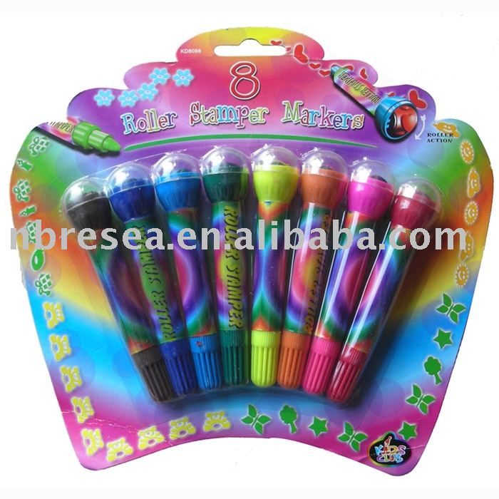 roller stamper markers Mini Highlighter