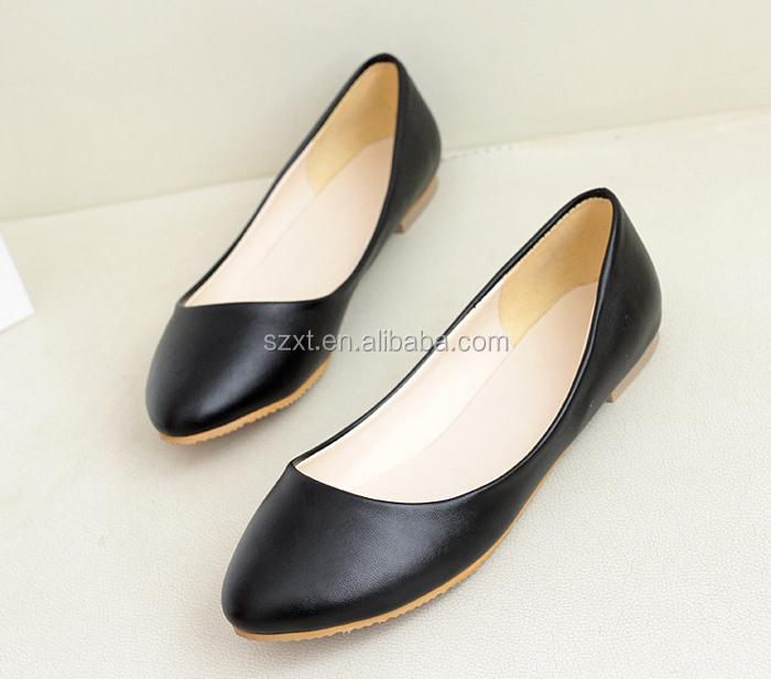 New Design Women Pcu Shoes New Design Ladies Shoes New Design Flat ...