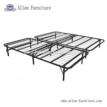Opvouwbaar Bed Frame En Base- Platform Bed Boxspring In Een- Geen ...