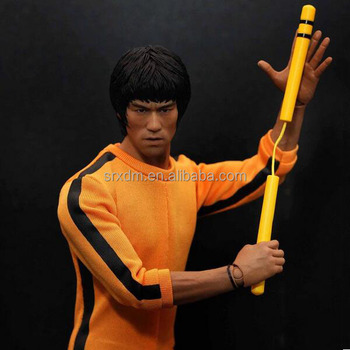 kung fu bruce lee wresting action figure customized kung fu fighting