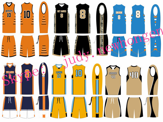 New Design Blank Style College Basketball Jerseys ...