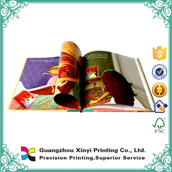 Wholesale cheap offset printing colorful import export books for children