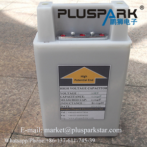 Capacitor 0.03uF 60kV,High Voltage oil capacitor,pulse capacitor,