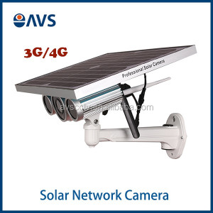 WIFI Starlight 3G/4G Solar Power Outdoor Wireless HD 720P IP Camera