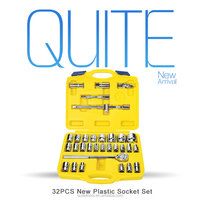 Repairing Tools 32pcs socket pliers tool set for mechanic tools sets socket set