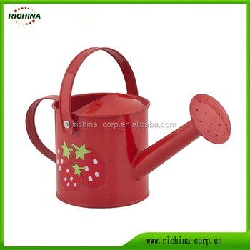 Galvanized metal watering can colorful made in china buy Small watering cans for indoor watering