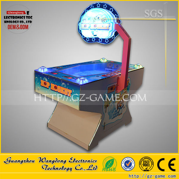 air hockey game machines/ice hockey pucks with 2 player lottery game machine