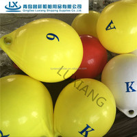 luxiang brand A and F Series PVC inflatable marine buoy and float buoys