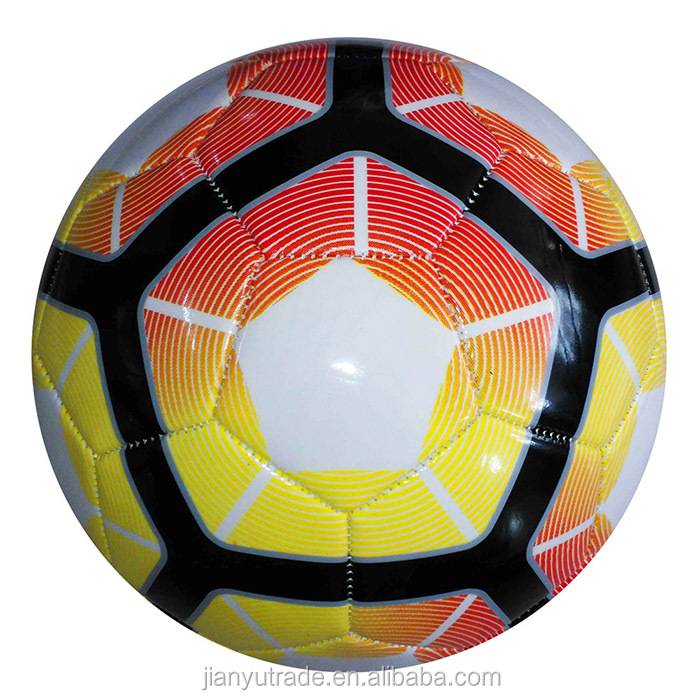 Factory price TPU football,kids play PU soccer ball,team use PVC football wholesale