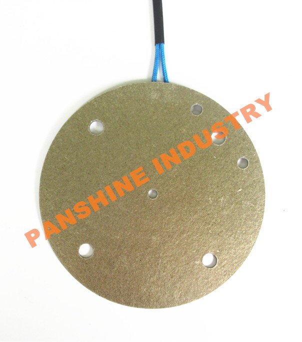 Mica sheet heating element Round mica pad heater element