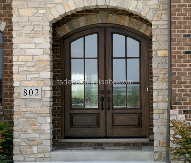 Arched Top Double Apartment Entry Doors In Foshan Doors Factory Buy Arched Double Entry Doors