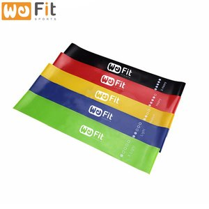Private label Fitness Resistance Loop band Exercise booty workout Bands