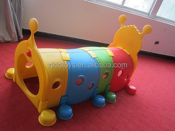 Bruco tunnel giocattolo di plastica per bambini, capretto plastica ...