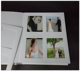 matted wedding photo album 5x7 slip in photo album