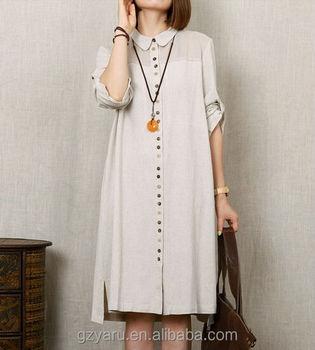 9b54190ff8 Women plus size loose designs comfortable summer african linen dresses for  women