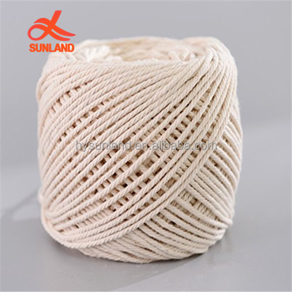 W1379 New Handmade Decorations Natural Cotton Bohemia Macrame DIY Wall Hanging Plant Hanger Craft Making Knitting Cord Rope