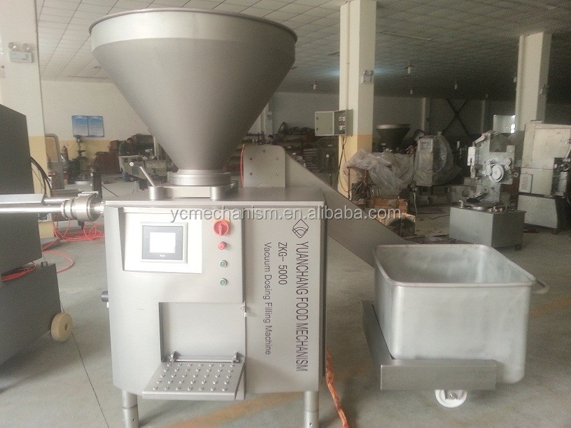 Stainless Automatic Sausage machine, vacuum meat filler,Good quality and service