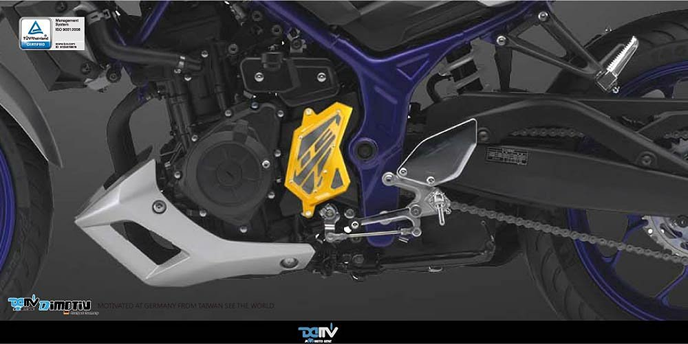 Dimotiv DMV Front Sprocket Cover for YAMAHA MT-03 2015-2016 (GOLD)