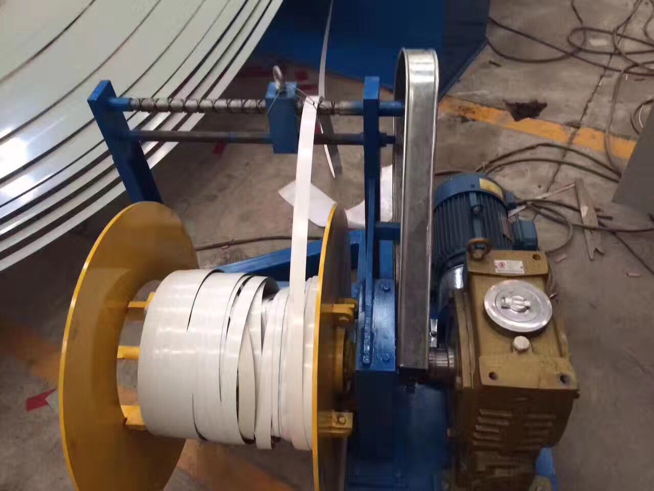 Automatic Steel Coil Slitting Line Machine