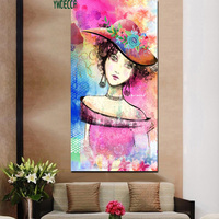Wholesale Factory Price Oil Painting Wall Art Decor Canvas Beautiful Girl Picture Custom Print On Canvas Painting