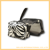 Hot sale black zipper design mesh makeup pvc cosmetic bag with zipper