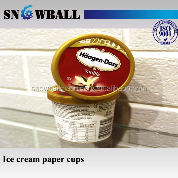 Fast delivery Chinese factory wholesale ice cream tubs for ice cream packaging