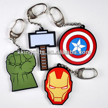 Su misura personalizzato solare <span class=keywords><strong>marvel</strong></span> keychain, league of legends portachiavi