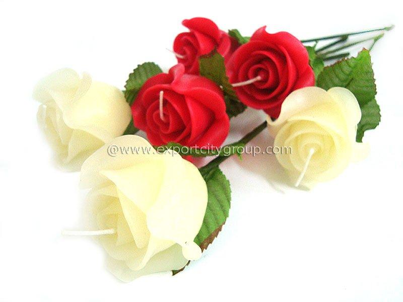 Flower Stem Candle Wedding Favor Gift Rose Buy Wedding