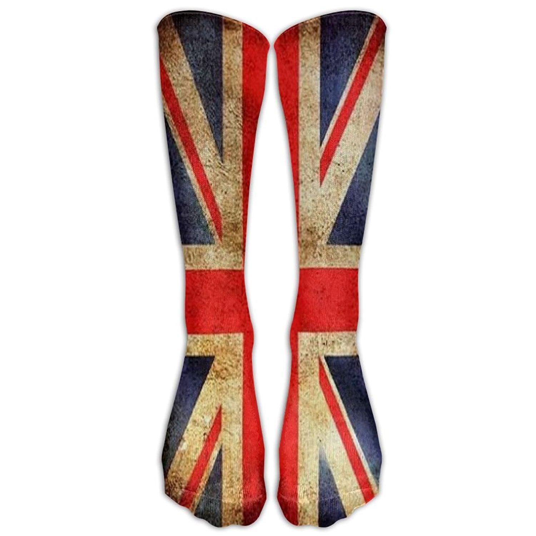 415dca79f Pojuu Union Jack Athletic Socks Knee High Socks For Men Women Sport Long  Sock Tube Long Stockings