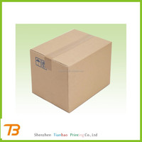 Heavy duty waterproof cardboard packaging and shipping box