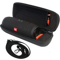 EVA Hard Travel Case for JBL Charge 3 Waterproof Portable Bluetooth Wireless Speaker, Carrying Case with Shoulder Strap