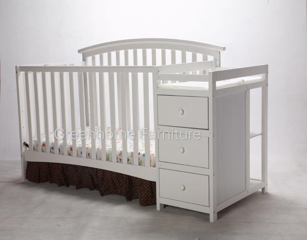 Cunas De Madera Para Bebes Cuna Madera Blanca Para Beb