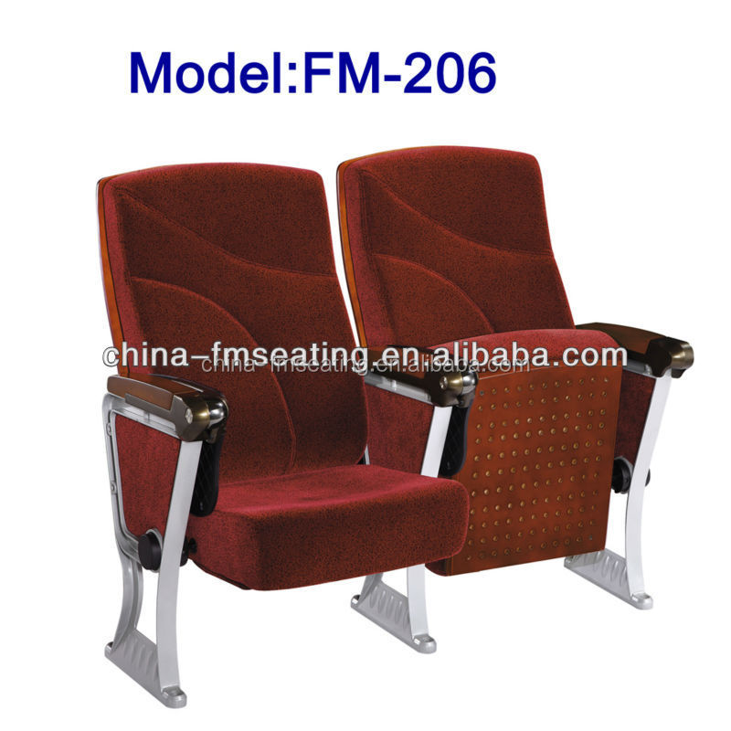 Commercial use auditorium type training chair for sale FM-206