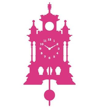 Boîtier En Acier Silhouette Pendule Mur Baroque Horloge - Buy Acier ...