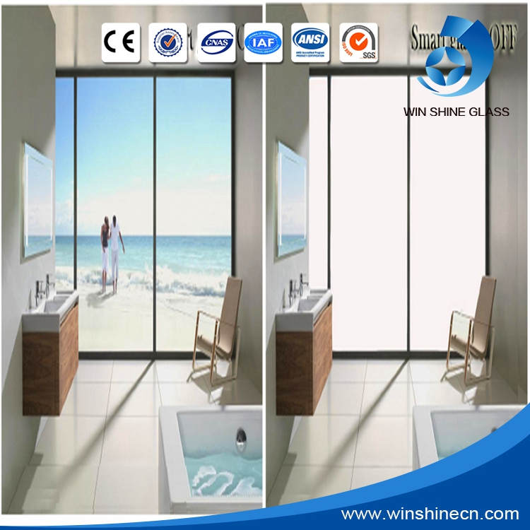 60V Switchable Privacy Glass Window Film / Pdlc Glass Film /Magic Switchable Smart Glass Projection Film