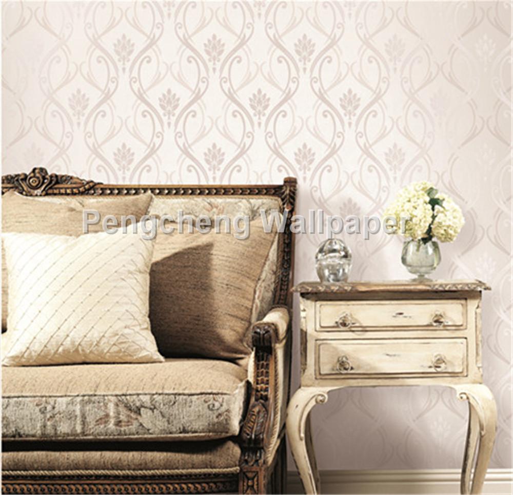 size 0.53*10m flower wallpaper for living room bedroom hotel