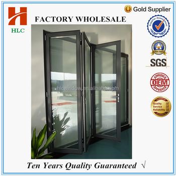 Foshan Factory Manufacture Powder Coated Aluminium Bi Fold Door ...