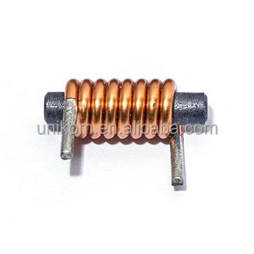 Through-hole Power Inductors with Rod Core, Inductance Range from 0.01uH to 200uH