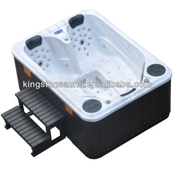 Soft water spa hot tub whirlpool with cover and skirt - Soft tube whirlpool ...