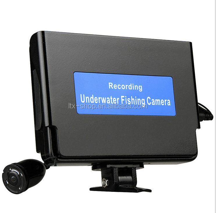 "20M 4.3"" Underwater Fishing Camera System HD 800TV Lines Underwater Camera with Record"