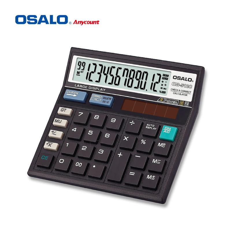 Os 512c Oem Check Calculator 12 Digit Dual