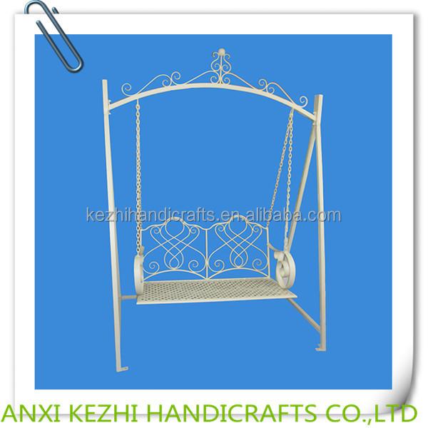 KZ150034 me<em></em>tal garden swing chair