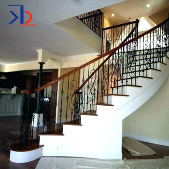 Contemporary Interior Metal Stair Banisters And Railings 201 304 316 Design Stainless Steel