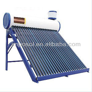 Korean thermosyphon copper coil solar water heater